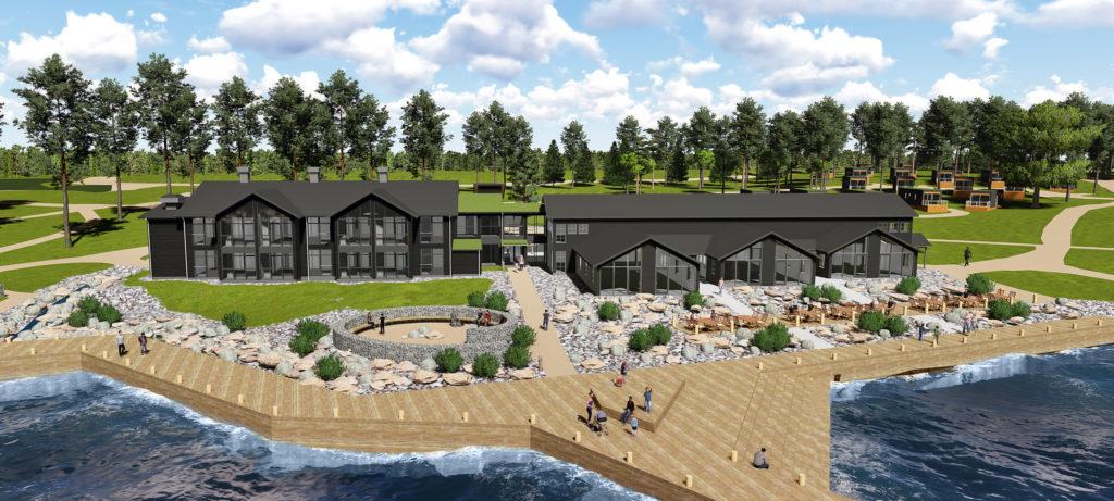 Furuvik Havshotell öppnar 2018