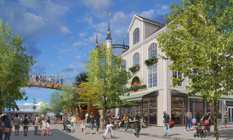Framåt för Gröna Lunds utbyggnadsplaner